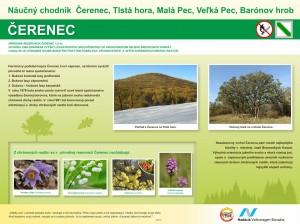 Naucny chodnik - Cerenec